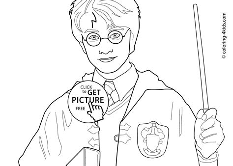 harry potter coloring pages  kids printable