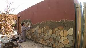 Hágalo Usted Mismo ¿Cómo revestir con piedra un muro exterior?