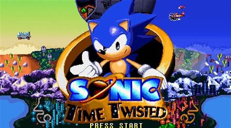 sonic fan games online indie retro news sonic the hedgehog time twisted a high