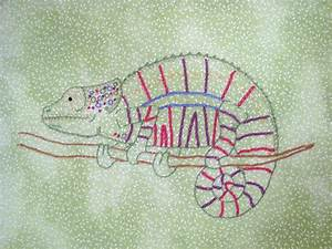 You have to see Chameleon Hand Embroidery on Craftsy!