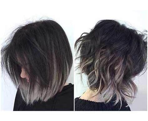 Unique Colored Bob Hairstyles Unique Hair Color Ideas