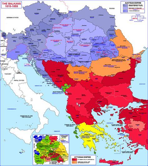 balkans historical map   mapsofnet