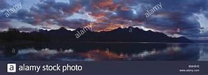The Richardson Range Viewed From The Side Of Lake Wakatipu