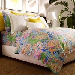 ralph flying point paisley tropical king duvet cover green blue ebay