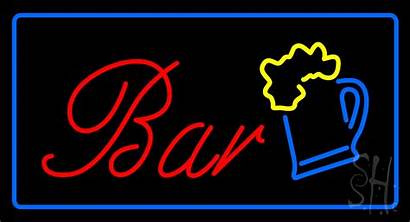 Neon Sign Bar Signs Animated Frame
