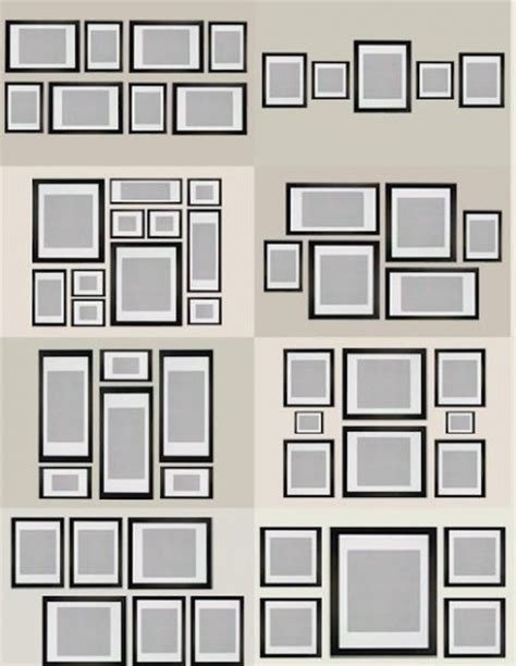 gallery wall template generator how to create a photo gallery wall emerald interiors