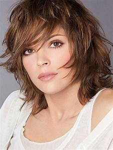CUTE HAIRCUTS FOR MEDIUM HAIRS CHOPPY HAIRSTYLES ARE FOR