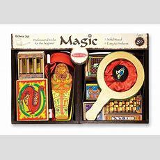 Amazoncom Melissa & Doug Deluxe Solidwood Magic Set With 10 Classic Tricks Melissa & Doug