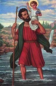 Saint Christophe Patron : caput mundi st christopher my patron saint of travel ~ Medecine-chirurgie-esthetiques.com Avis de Voitures