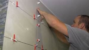 how to install large format tiles on bathroom walls using With how to lay tiles in the bathroom