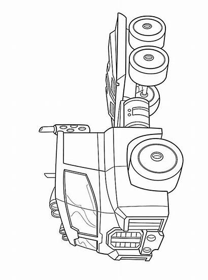 Optimus Prime Transformers Fun Rescue Coloring Bots