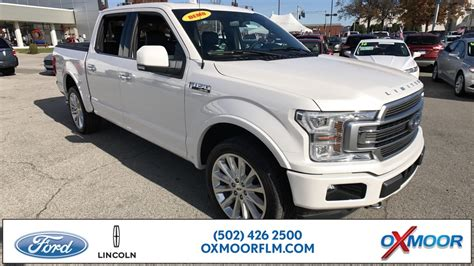 New 2018 Ford F-150 Limited 4D SuperCrew in Louisville