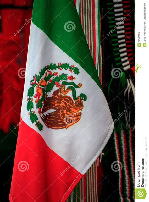 Mexican Flags stock photo. Image of eagle, flag, america ...
