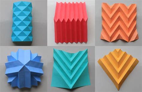 paper folding techniques paper folding