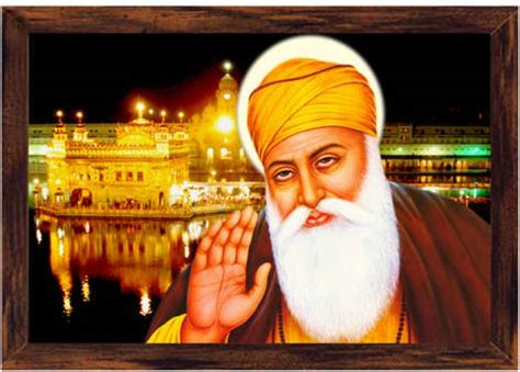 guru nanak dev ji canvas art religious posters  india