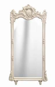 Grand Miroir Baroque : grand miroir baroque rectangulaire beige patin ~ Teatrodelosmanantiales.com Idées de Décoration