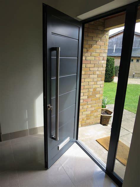 modern house door cambridgeshire