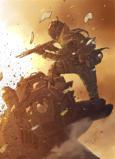 brilliant titanfall fan gaming fan and sci fi