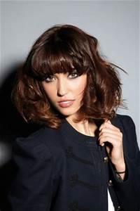 Frange Cheveux Mi Long : coiffure coupe mi long femme avec frange femme cheveux mi longs sur ~ Melissatoandfro.com Idées de Décoration