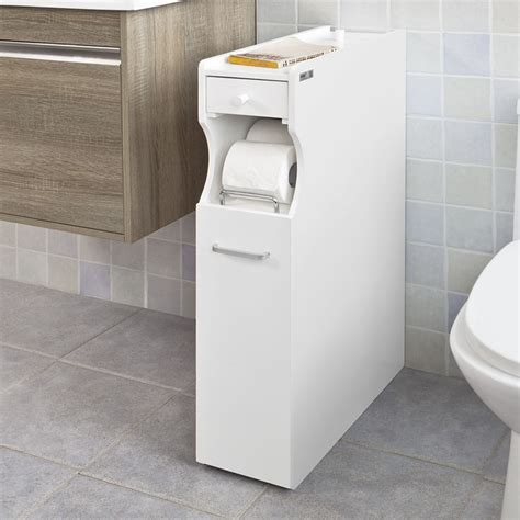 Product Of The Week Easy Load Toilet Paper Holder by Sobuy 174 White Wood Bathroom Cabinet Toilet Paper Storage