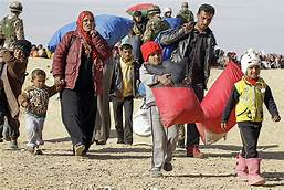Syrian refugees top 875,000