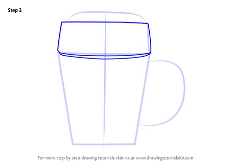 learn   draw beer mug everyday objects step  step