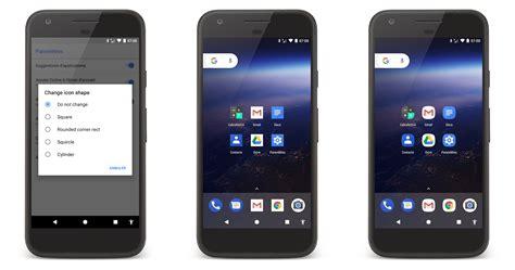le torche pour android quels changements pour le pixel launcher sur android o frandroid