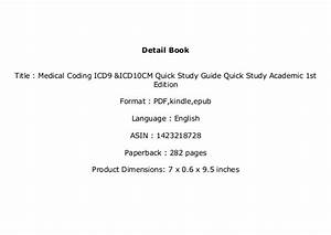 Download  P D F    Library   Medical Coding Icd9