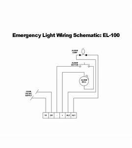Emergency Lighting Wiring Diagram  Emergency  Free Wiring