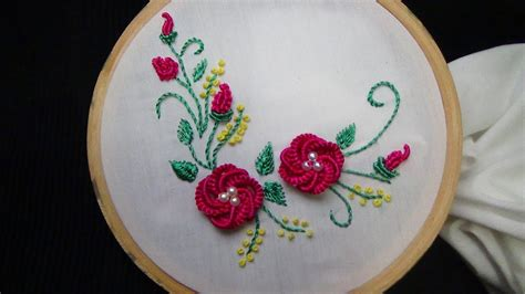hand embroidery brazilian embroidery youtube