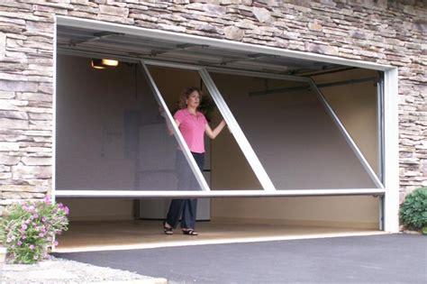 screen garage door product catalog