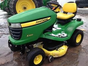 John Deere X300 Series X300 X304 X320 X324 X340 X360 Lawn