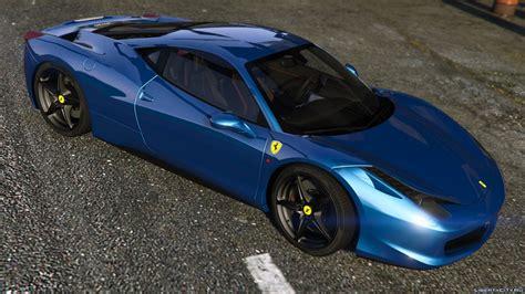Ferrari 458 Italia Autovista Add On Replace Tuning
