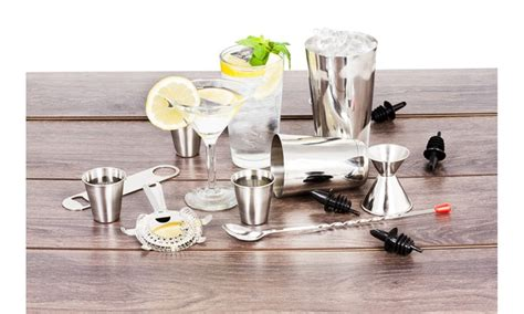 essential barware up to 44 on barware tool set 16 groupon goods