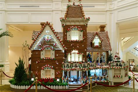 Disney's Grand Floridian Resort Gingerbread House