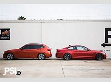 PSI's Sakhir Orange BMW M4 Makes some Friends autoevolution