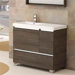 meuble salle de bain porte coulissante maison design With porte de douche coulissante avec meuble salle de bain 6 tiroirs