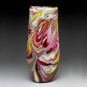 Flattened Cylinder Marble Vase by Bryan Goldenberg (Art