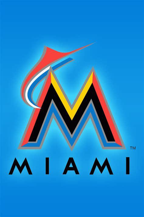 34 Miami Marlins Iphone Wallpaper On Wallpapersafari
