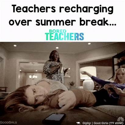 Teachers Recharging Teacher Meme Memes Break Summer
