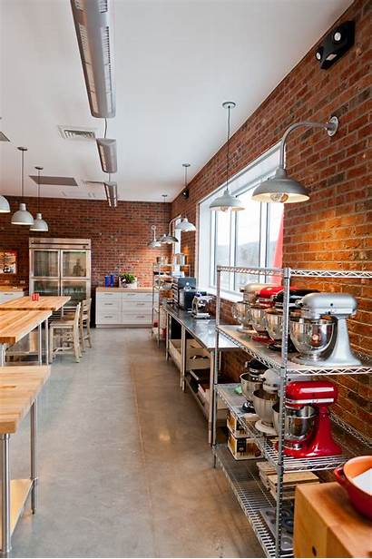 Kitchen Commercial Industrial Bakery Teaching Layout Restaurant