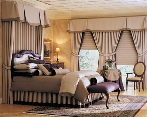 Master Bedroom Drapery Ideas by Bedroom With Modern Curtains And Drapes