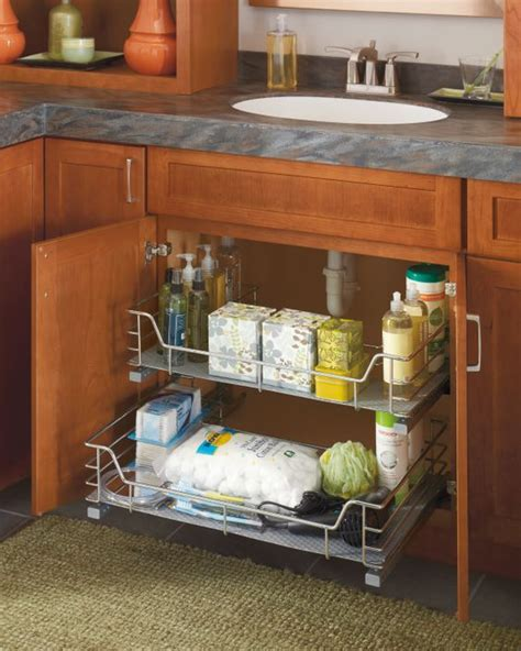 kitchen tidy ideas thanks to diamond tidy your bathroom counters by organizing toiletries under the sink and out