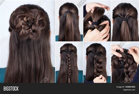 Simple Braided Hairstyles For Long Hair Step By Short Hairstyles For Dark Thin Hair Top Braids How To Cut Mens Long Wavy Simple Wedding Updos Do A Perfect Messy Bun With Curly Colors You Can Dye Brown Bangs Haircuts Styles