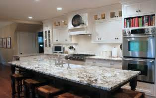 kitchen island with granite countertop delicatus white granite