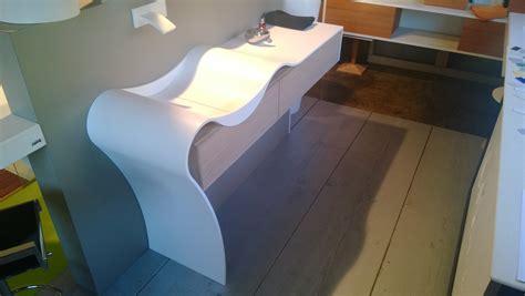 plan vasque en resine de synthese salle de bain cm