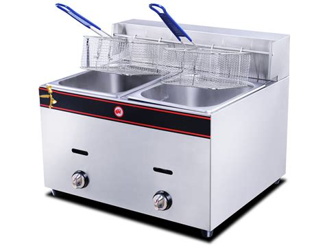 deep gas fryer hgf electric chef golden