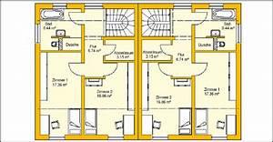 Bauen Zweifamilienhaus Grundriss : modernes doppelhaus bauen mit ytong bausatzhaus ~ Lizthompson.info Haus und Dekorationen