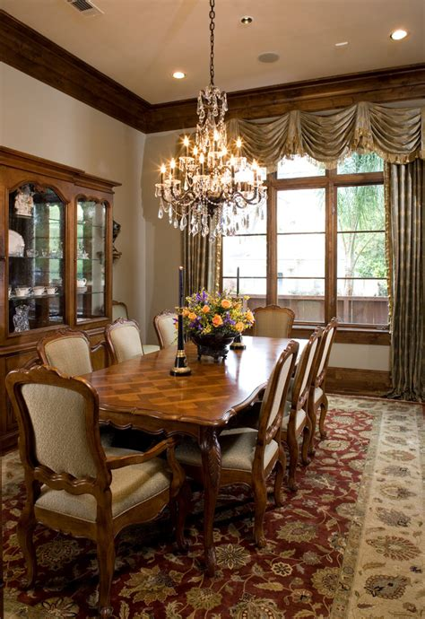 dining room curtain ideas living room transitional with