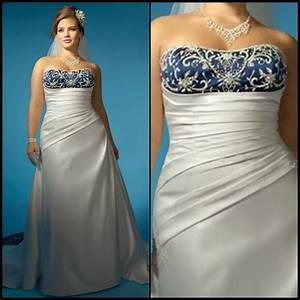 plus size wedding dresses with color section two With plus size wedding dresses with color